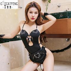 冯猫猫 狂野小野猫套装(衣服、手环2个、围裙)